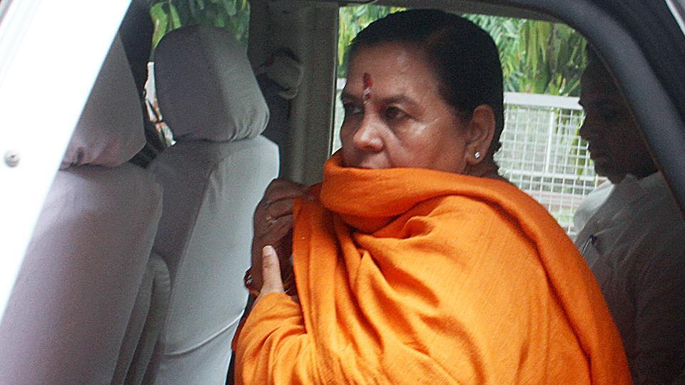 BJP leader Uma Bharti has been tested positive for Covid-19