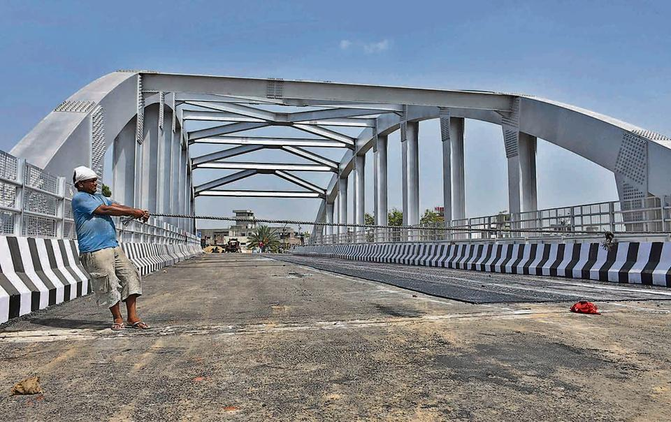 The 132-year-old bridge, which is a major lifeline of the city, was closed for heavy vehicles in May 2016 after its girders were found badly corroded. Two months later, in July, it was closed for all vehicles except two-wheelers.