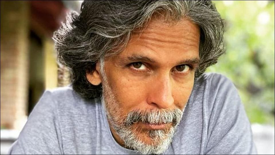 Milind Soman balancing his body weight in a complex but 'simple enough' manner is flexibility goals – fitness