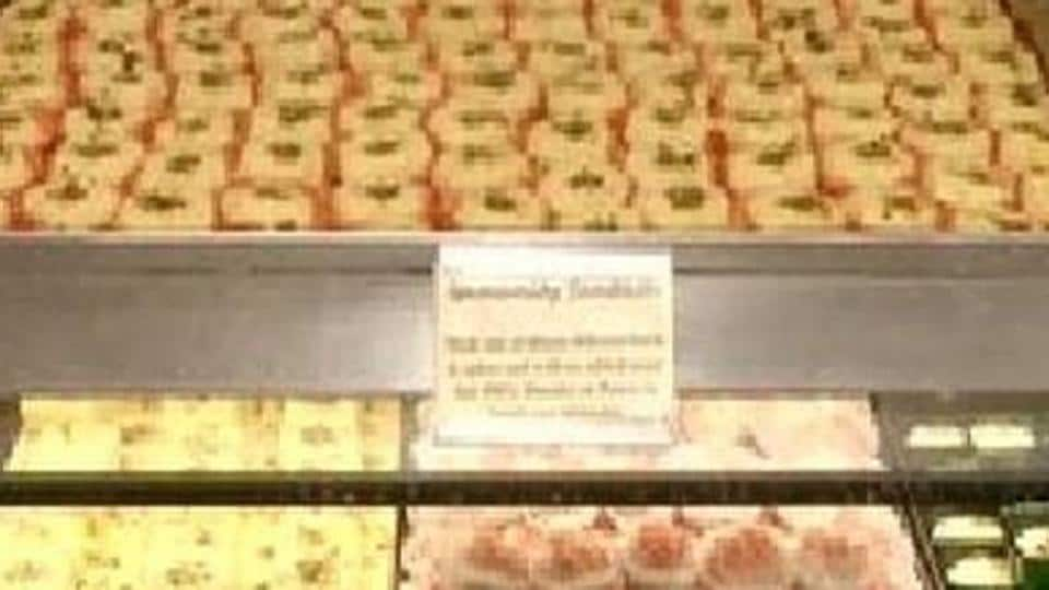 Authorities of the sweet manufacturers' association said that the directive could spell doom on small and medium sweet shops in urban areas and towns