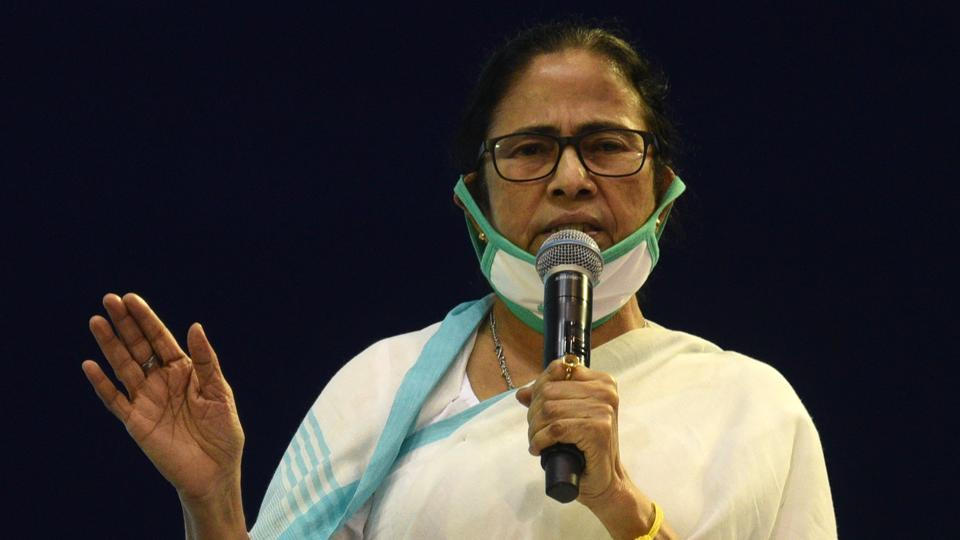 West Bengal Chief Minister Mamata Banerjee announced the announcements on her Twitter account (Photo by Samir Jana / Hindustan Times)