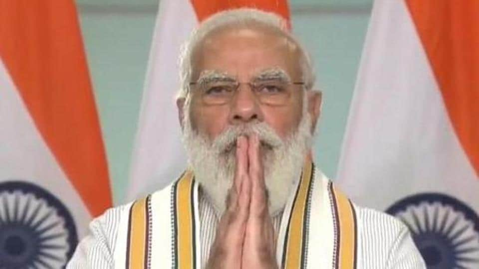 Prime Minister Narendra Modi paid tributes to freedom fighter Bhagat Singh