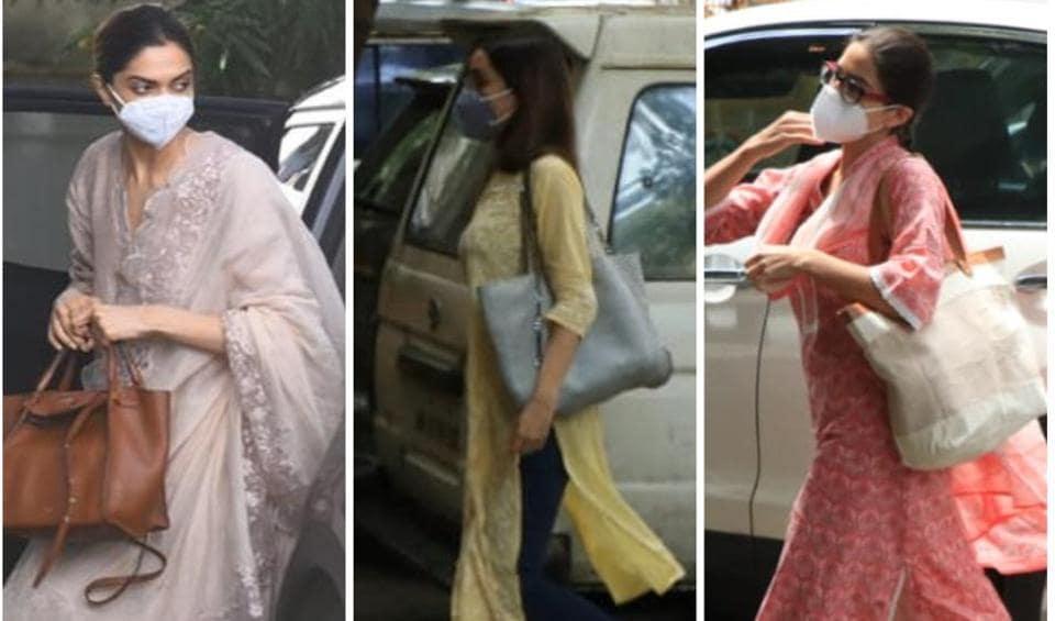 Deepika Padukone, Shraddha Kapoor and Sara Ali Khan were questioned by the NCB on Saturday.
