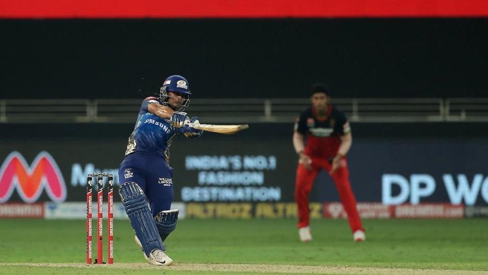 IPL 2020 RCB v MI: Ishan Kishan belted nine sixes in his knock of 99.