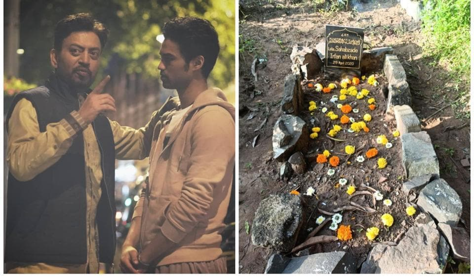 Babil shares new photos of Irrfan Khan's grave amid criticism of it looking 'unkempt', says 'Baba liked it wild' – bollywood