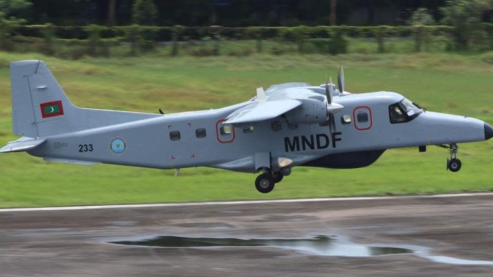 India provides Dornier to Maldives, will help monitor movement of Chinese vessels