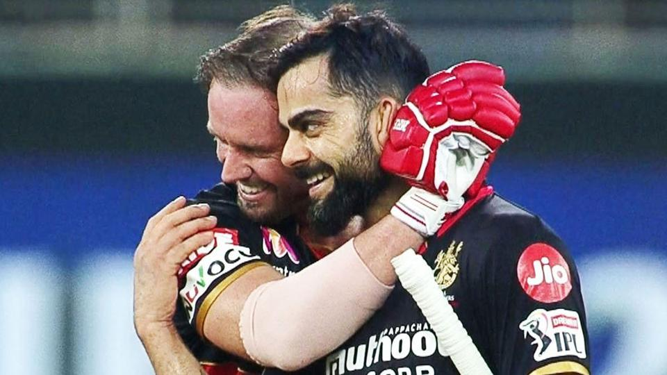 Virat Kohli and AB de Villiers won RCB the match in the Super Over.