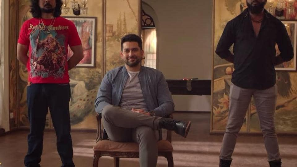 Aftab Shivdasani in a still from Poison 2 trailer.