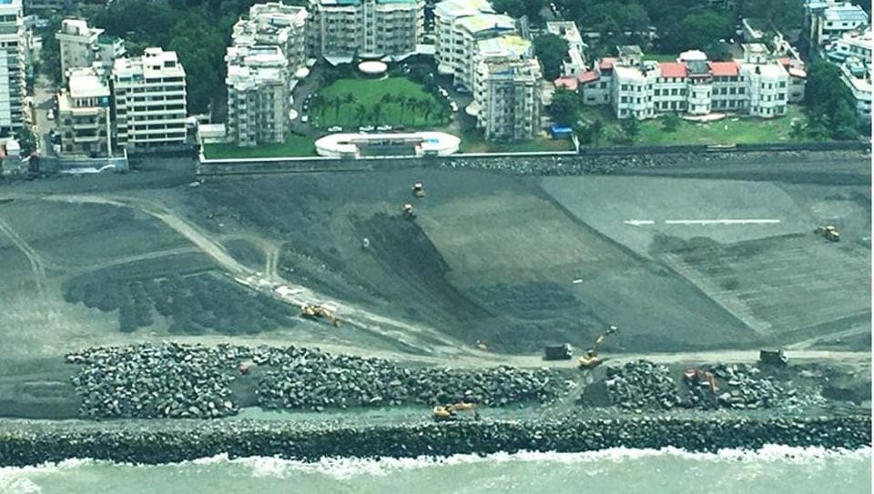 CAT's executive trustee, Debi Goenka, said the depth and the width of the reclamation demonstrated that the Supreme Court order has been allegedly ignored and caused irreparable damage to Mumbai's coastline.