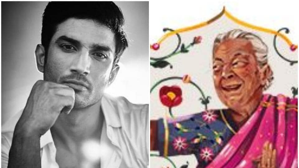 Google dedicated a doodle to Zohra Sehgal on Tuesday. AIIMS report says there was no trace of organic poison in Sushant Singh Rajput's body.