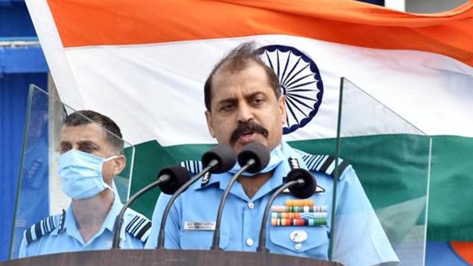 Chief of Air Staff Air Chief Marshal RKS Bhadauria.