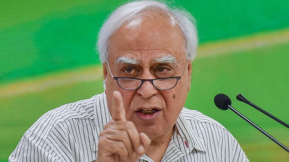 Congress leader KapilSibal.