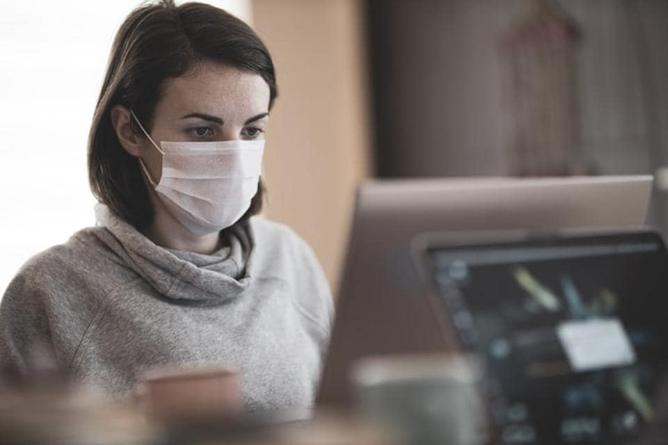 According to the scientists, a three-layered mask decreases the amount of those contaminants that are recirculated through the room by ventilation. (Representational)