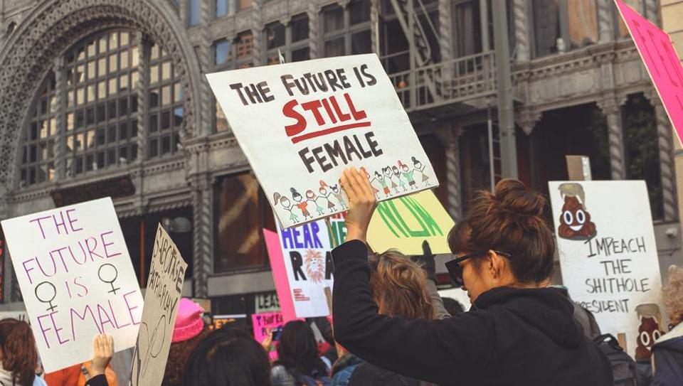 """While the government """"has done nothing concrete"""", the posters have givenwomen a forum and helped change howtheyapproach public spaces. (Representational Image)"""
