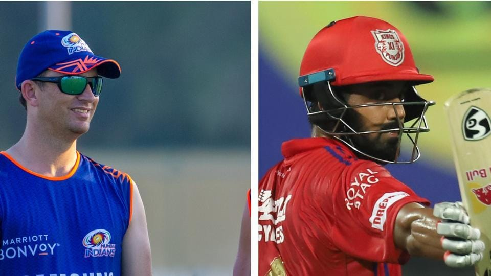 Shane Bond and KL Rahul.