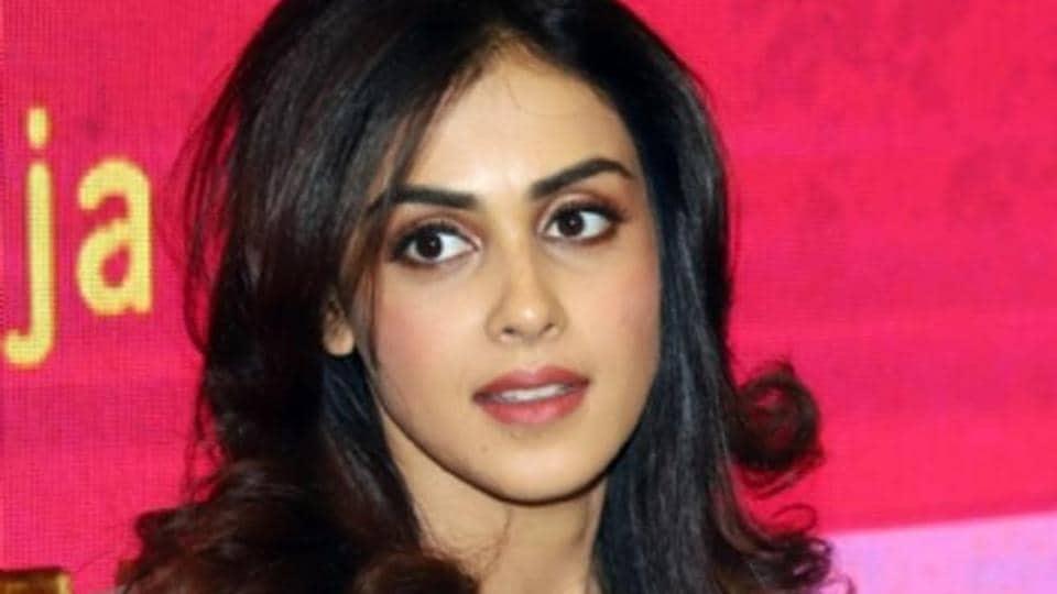 Actor Genelia Deshmukh was last seen in the Bollywood film Tere Naal Love Ho Gaya.