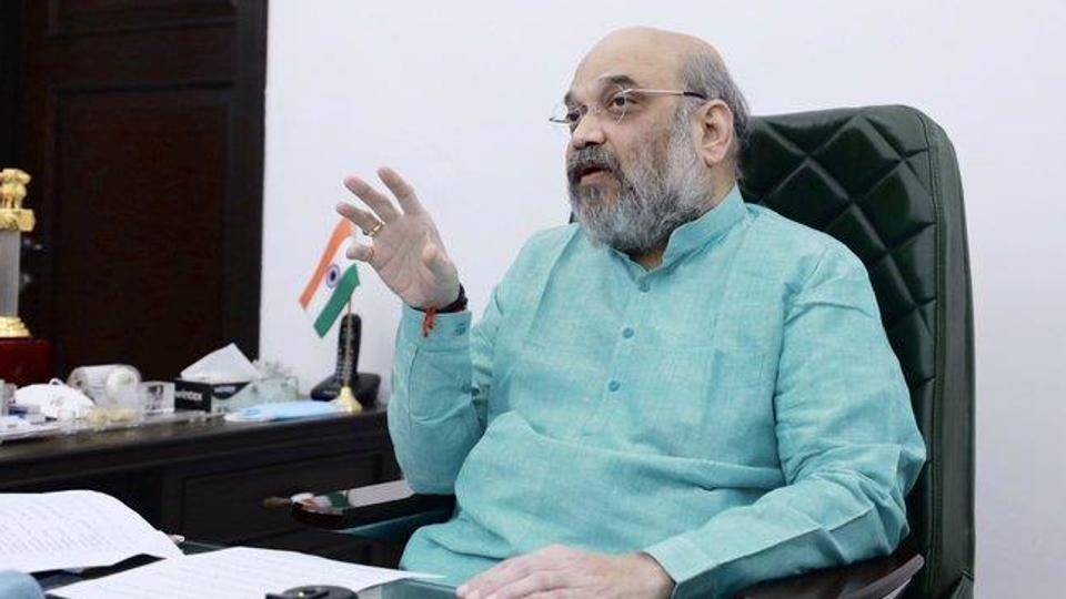 Bengal leaders called to Delhi are state president Dilip Ghosh, national vice-president Mukul Roy and, quite significantly, Rahul Sinha, who expressed his grievance in public after being removed from the post of national secretary during the reshuffle on Saturday.  (Photo @AmitShah)