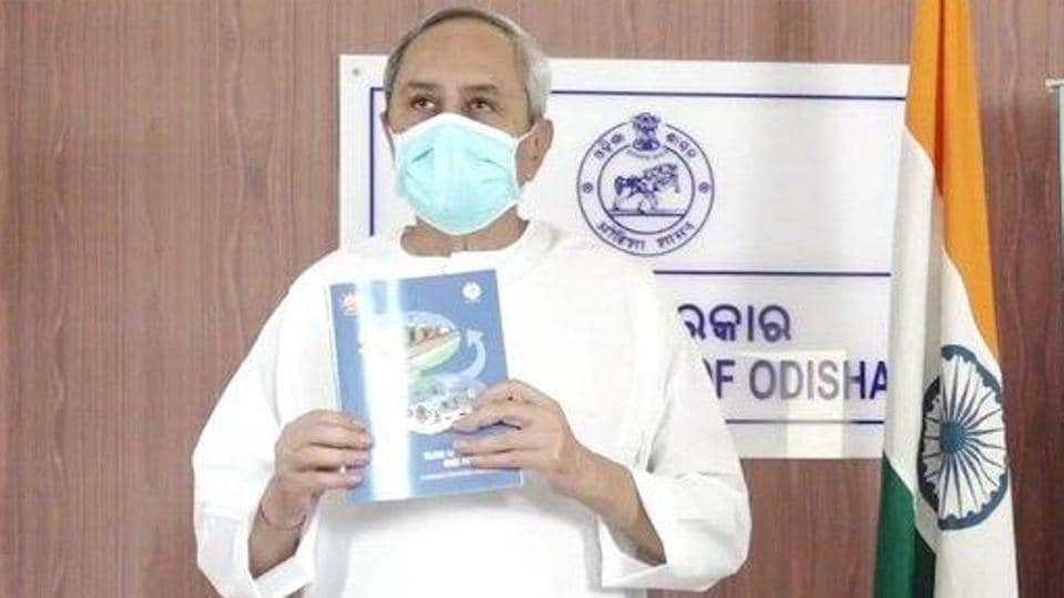 Chief minister Naveen Patnaik tweeted an article from WHO website which praised Odisha for early lockdown, setting up the country's first dedicated Covid-19 hospital, setting up community-based disaster management, among other support programs. (Photo @CMO_Odisha)