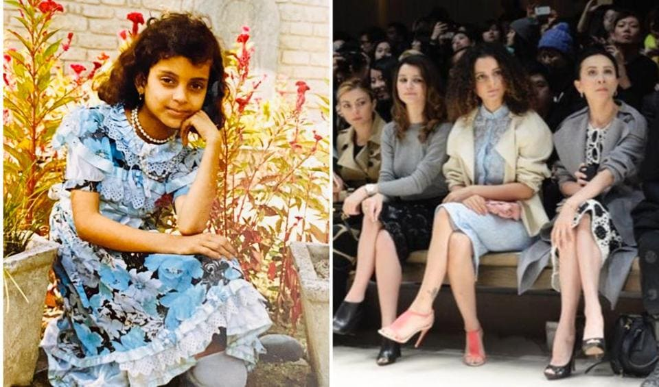 Kangana Ranaut said that she was 'laughed at' as a child for her fashion choices.