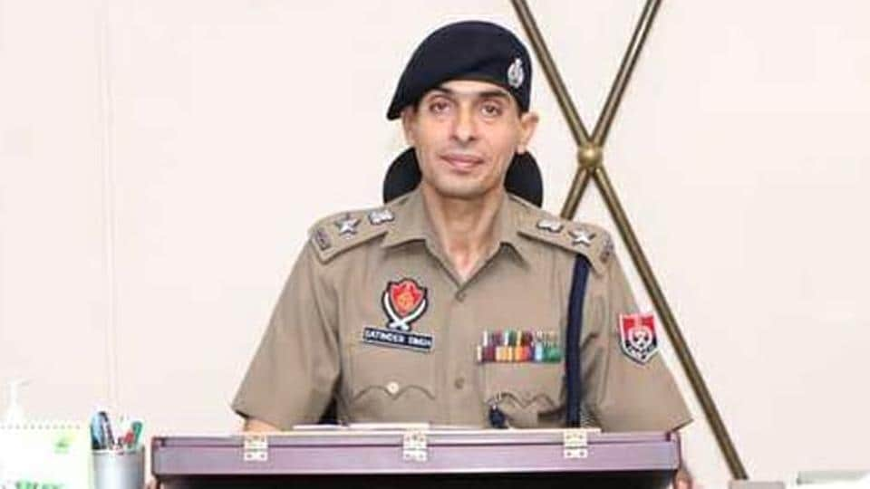 Satinder Singh has been transferred from Jalandhar, where he was posted as the SSP (rural)