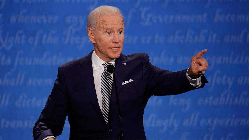 Angry opening: Donald Trump, Joe Biden lash, interrupt each other