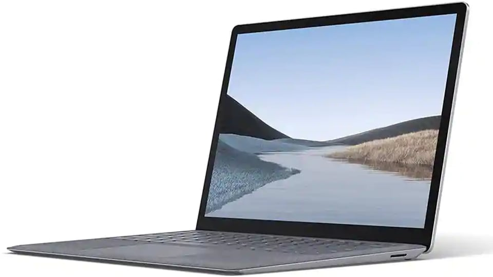 The Surface Go Laptop, starting at $549, is smaller and lighter than the company's other notebooksand hasa fingerprint scanner to log in. The devicecomes in three metallic finishes —ice blue, platinum and a pinkish-gold color that Microsoft calls sandstone, and has 13 hours of battery life andan Intel Corp. processor.