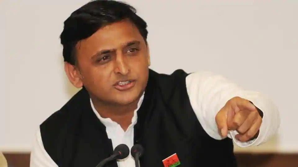 Samajwadi Party president and former chief minister Akhilesh Yadav