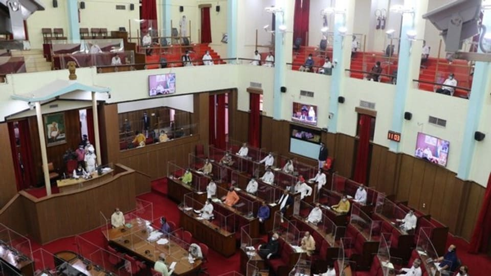 The monsoon session of Odisha Assembly is currently on.