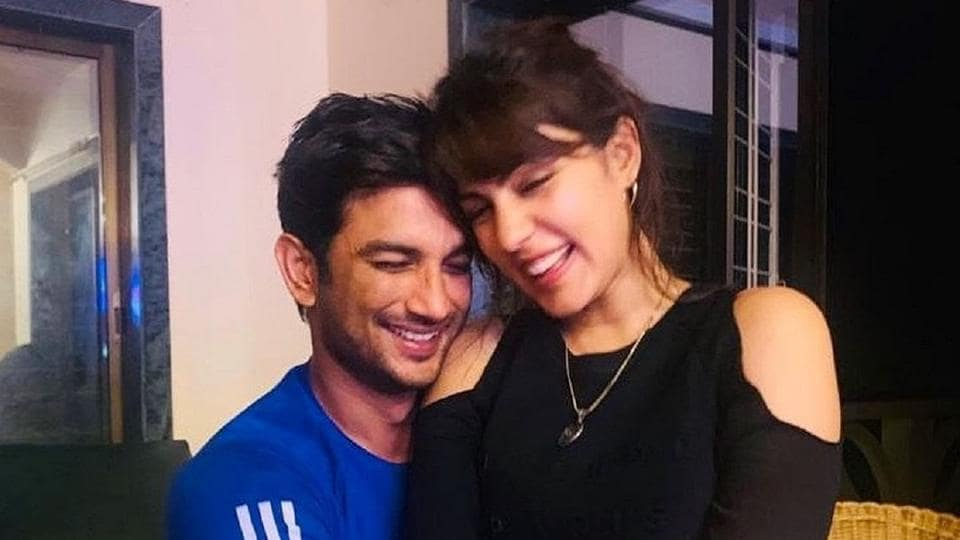 Sushant Singh Rajput and Rhea Chakraborty had been dating.