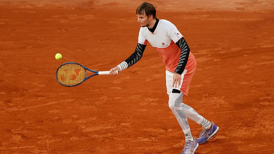 Alexander Bublik served an underarm ace in his first-round win over Gael Monfils.