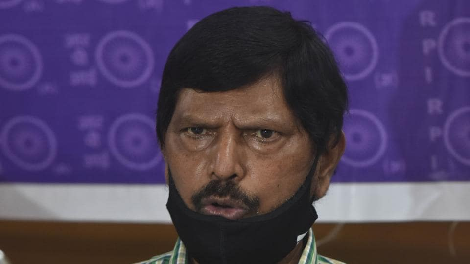 Union minister Ramdas Athawale's support to actors have drawn flak from political rivals and social media users.