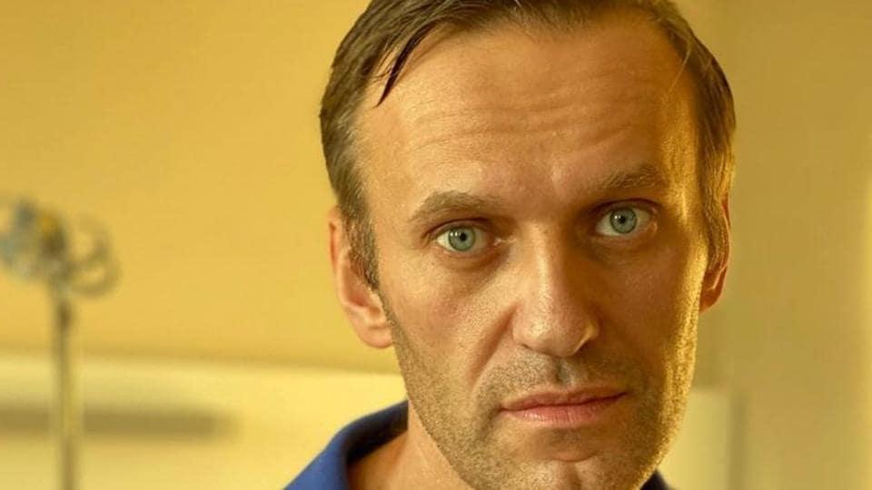 Russia's Alexei Navalny accuses Vladimir Putin of being behind poisoning