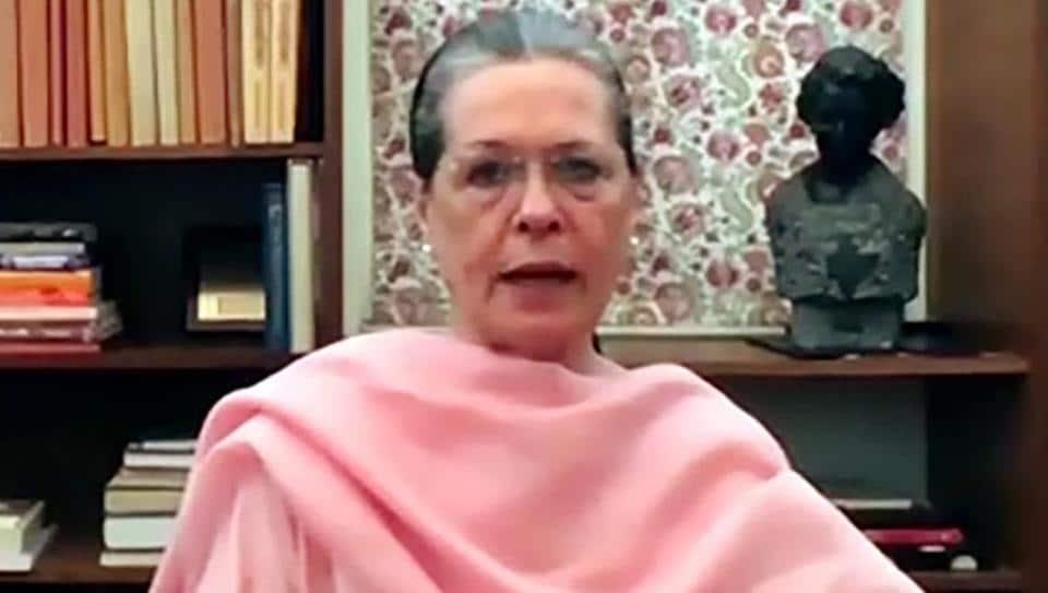 Congress president Sonia Gandhi (File Photo/ANI)