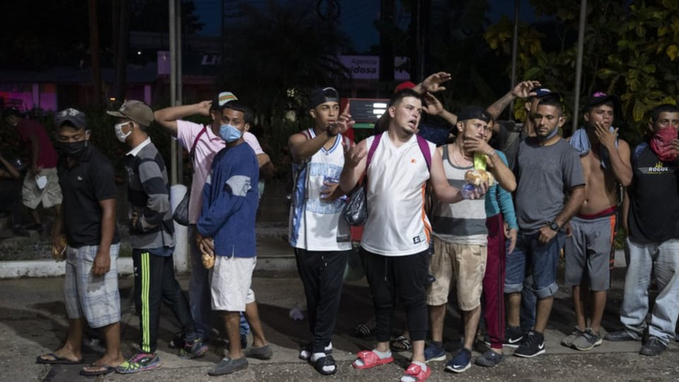 Guatemala's president quickly vowed to detain them and return them to Honduras, saying the migrants represented a threat to the health of Guatemalans amid efforts to contain the pandemic.