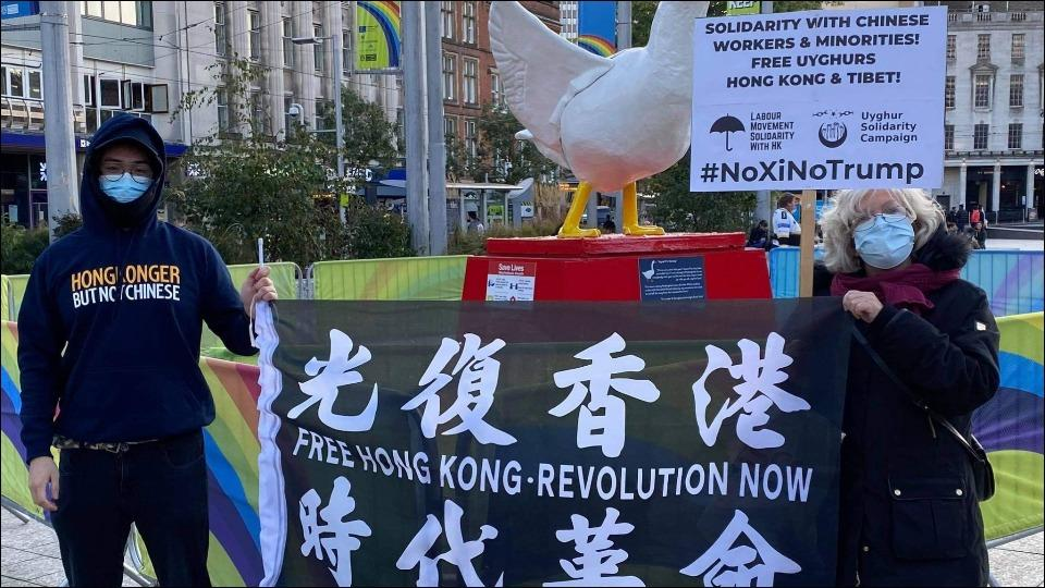 London holds anti-China protest in support of Uyghurs, Hong Kong and Tibet