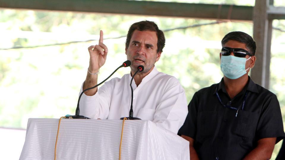 'Modi govt bent on snatching land, bread from farmers':Rahul Gandhi