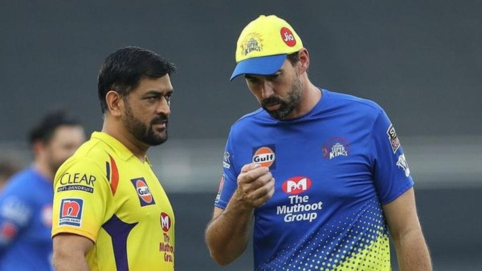 IPL 2020, CSK vs KXIP: 'Maybe he should be at no. 1' - Stephen Fleming's cheeky response on MS Dhoni's batting position - Hindustan Times