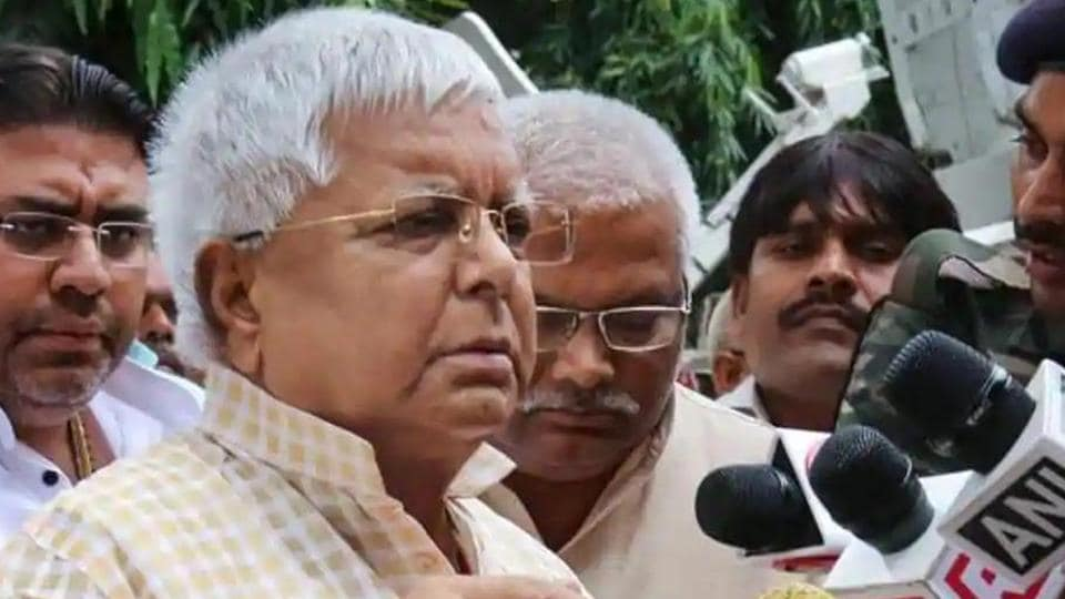 Lalu Prasad has spent only two of the 35 months since his conviction in Ranchi's Birsa Munda Jail. (PTI file photo)