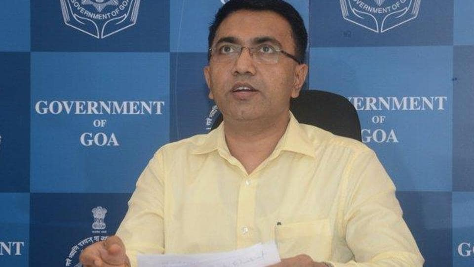 """Goa CMPramod Sawant, who said that the issue of Mahadayi was """"close to his heart"""", accused previous regimes - both BJP and Congress - of having neglected the issue.  (Photo @goacm)"""