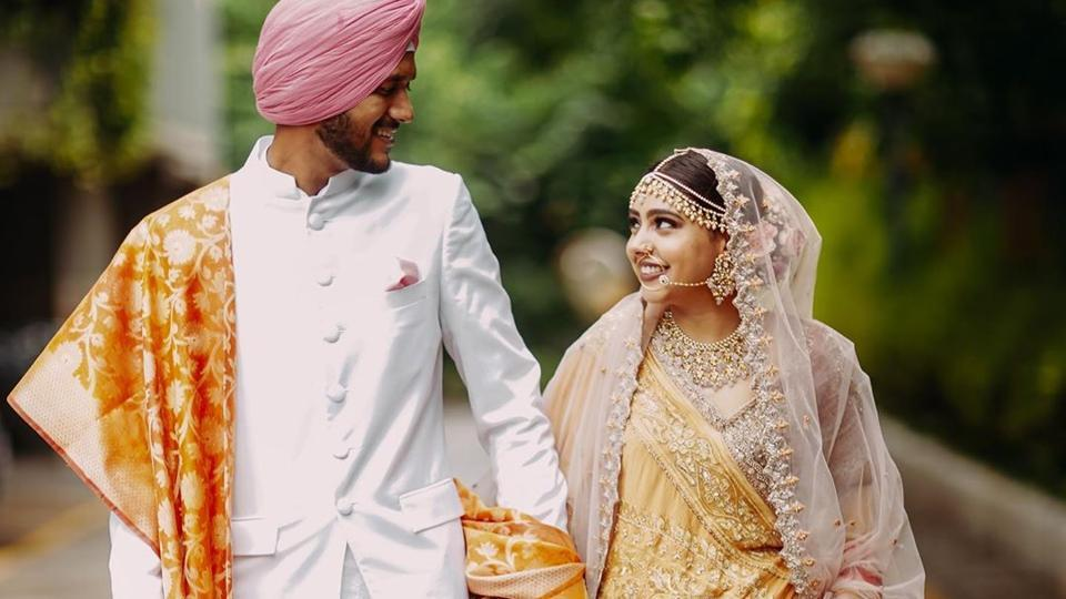 Niti Taylor took to her Instagram to announce her wedding to fiance Parikshit Bawa on August 13.  (Instagram)