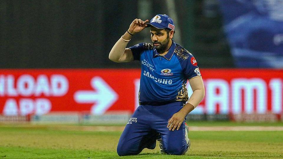 Mumbai Indians Skipper Rohit Sharma during the first cricket match of IPL 2020 against Chennai Super Kings.