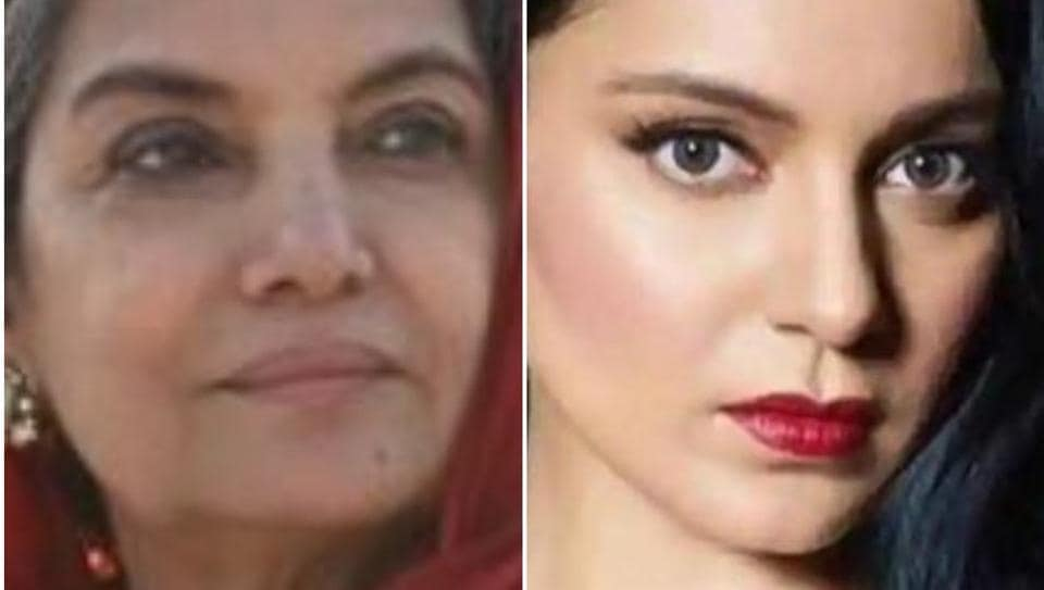 This isn't the first time that Kangana Ranaut's sister Rangoli Chandel has spoken against Shabana Azmi.