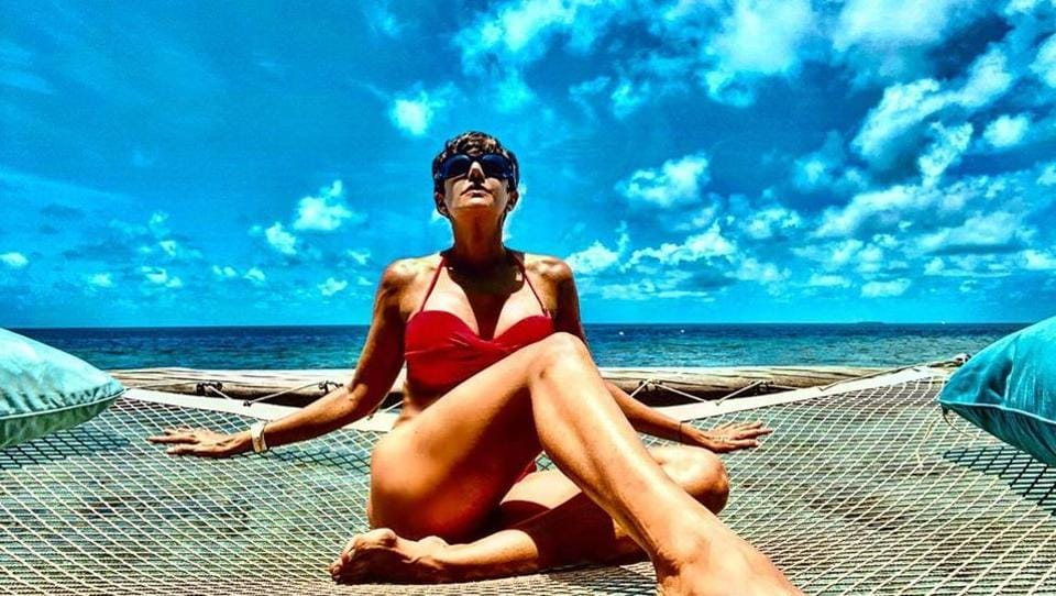 Mandira Bedi reached Maldives last month and has been sharing breathtaking photos from her vacation ever since.