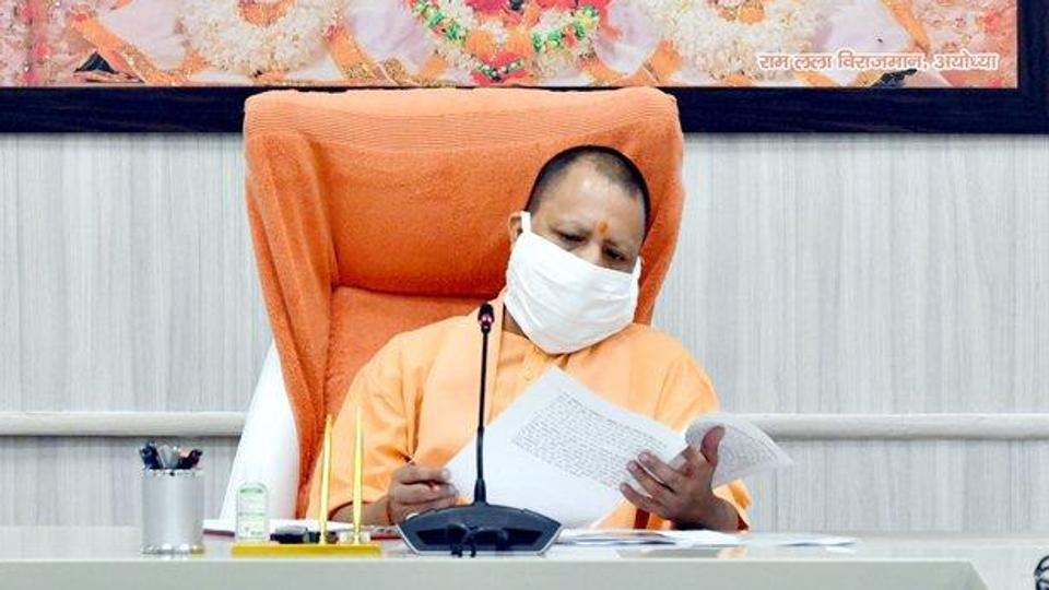 Chief minister Yogi Adityanath on Monday alleged that an international conspiracy was being hatched to destabilise his government, following its tough stand against anti-Citizenship Amendment Act (CAA) protests. (Photo @CMOfficeUP)