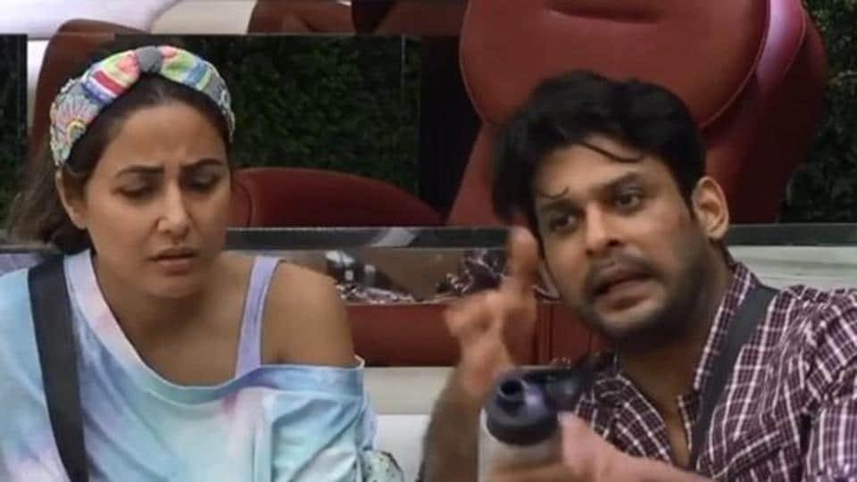 Bigg Boss 14: Sidharth Shukla and Hina Khan in a screengrab from the promo video.