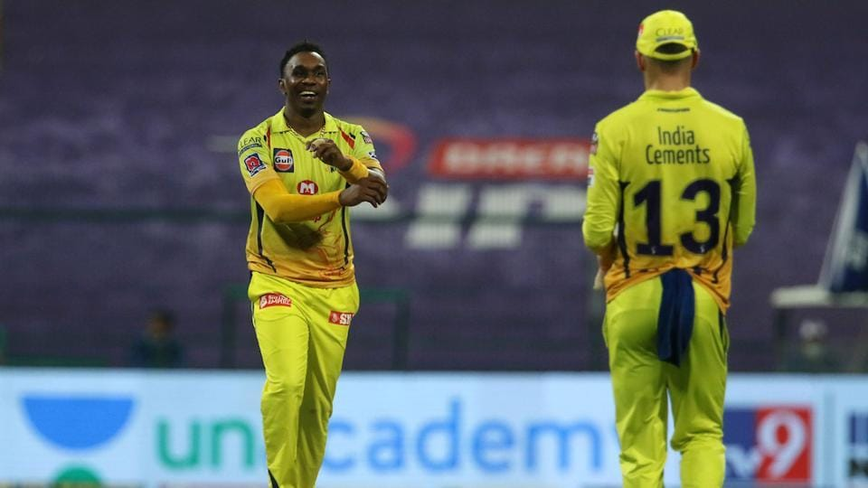 IPL 2020 KKR vs CSK: Dwayne Bravo was tough to get away with in the death overs.