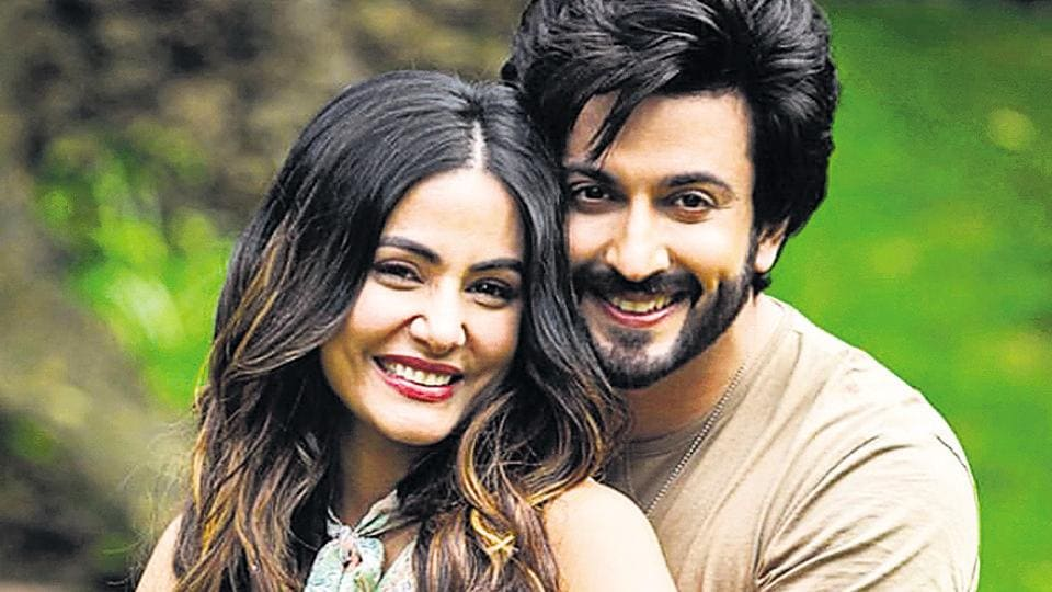Hina Khan and Dheeraj Dhoopar shot for the song Humko Tum Mil Gaye, sung by Vishal Mishra, which was lauded by their fans.