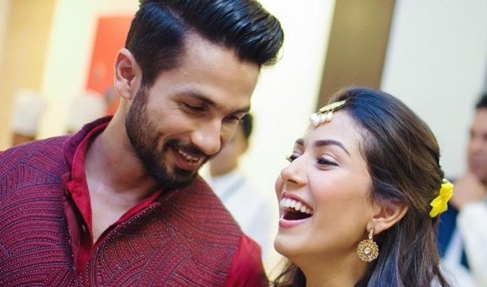 Shahid Kapoor asks wife Mira Rajput 'why so beautiful' as she shares the secret of her lustrous hair. Watch video – bollywood