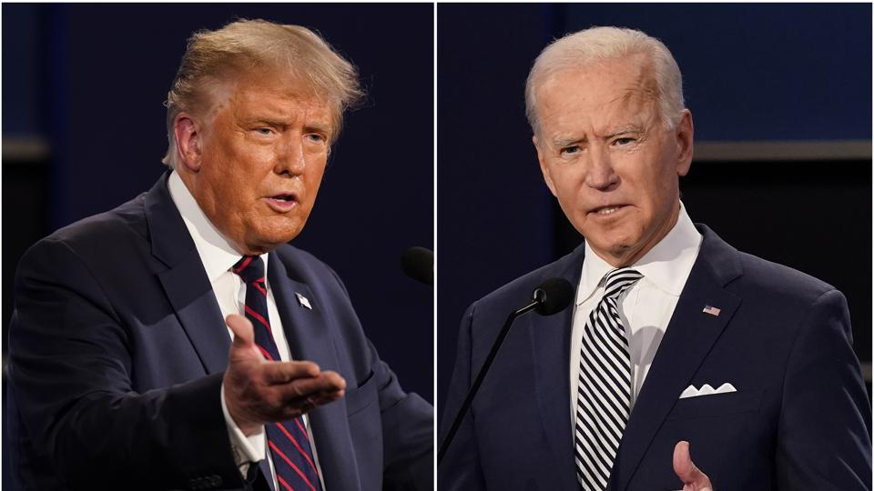 """Trump's campaign manager Bill Stepien says in a statement that the """"American people should not be deprived of the chance to see the two candidates for president debate face to face two more times"""" before the election."""