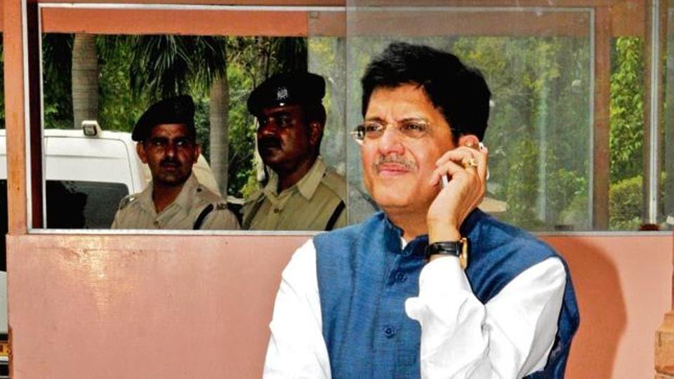 Union minister Piyush Goyal